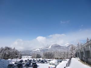 2月磐梯山